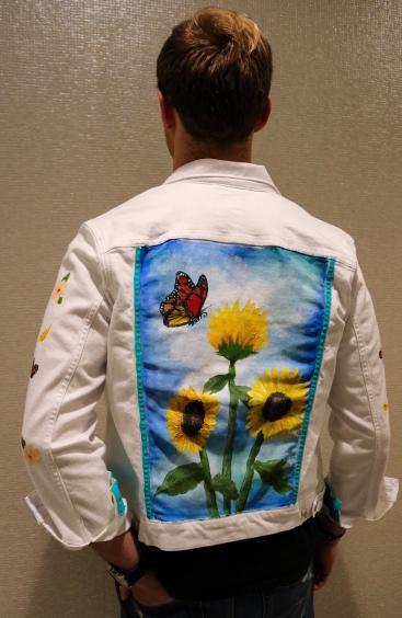 """Sunflower Jacket (See more apparel on """"Custom Clothing"""" tab)"""